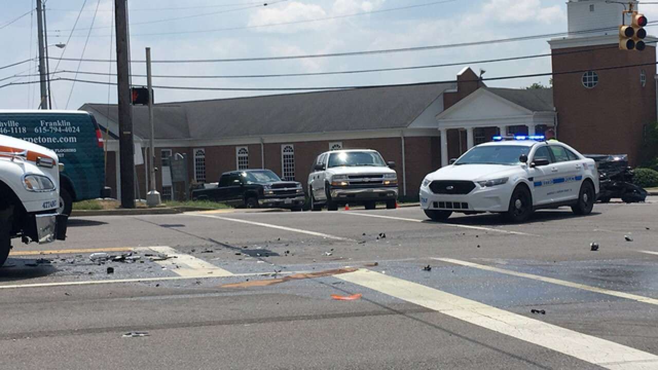 1 Injured In Crash With Emergency Vehicle