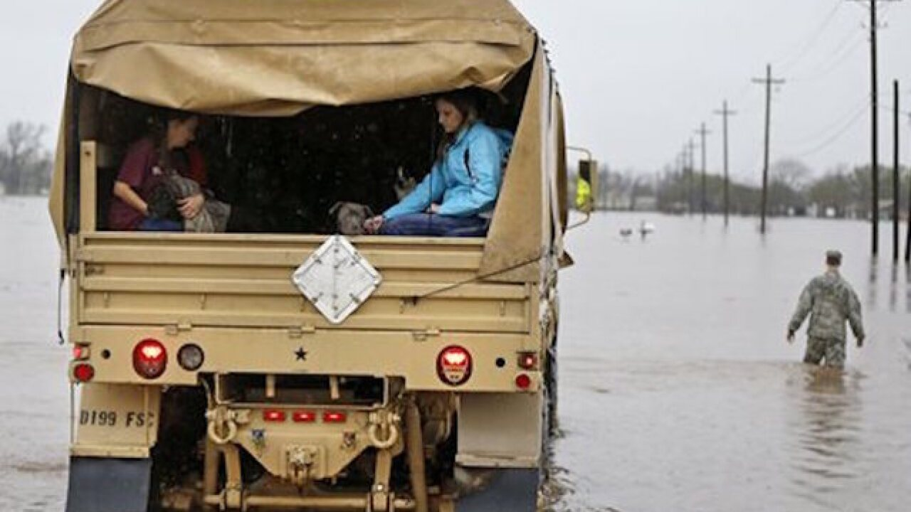 3 dead after historic flooding in Louisiana