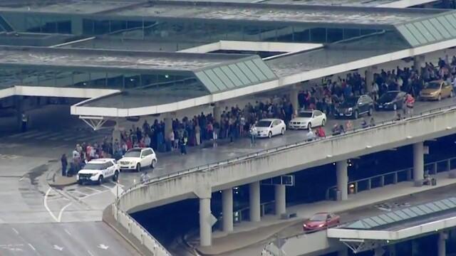 Photos: Pre-Security Terminal Evacuated At BNA