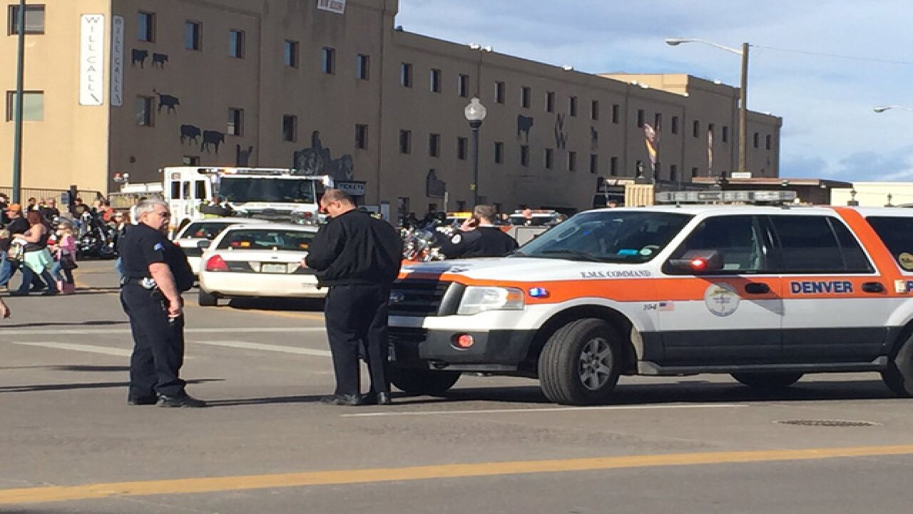 Multiple people shot, 1 at arena in Denver