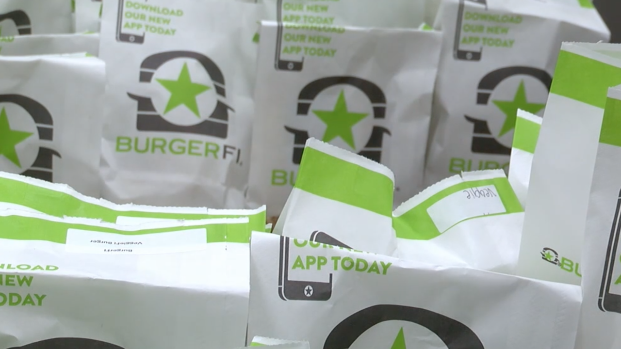 BurgerFi donates meals to hospital workers