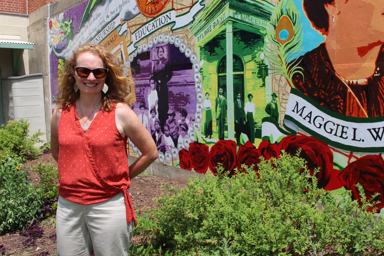 Photos: Collaborative Maggie Walker mural brings 'pride' for community