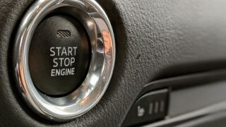Push to start engine button