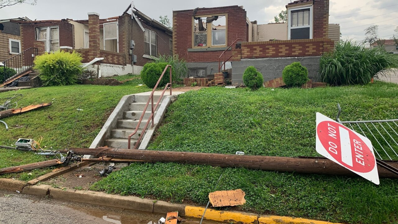 Tornadoes and floods have caused devastation in the central US
