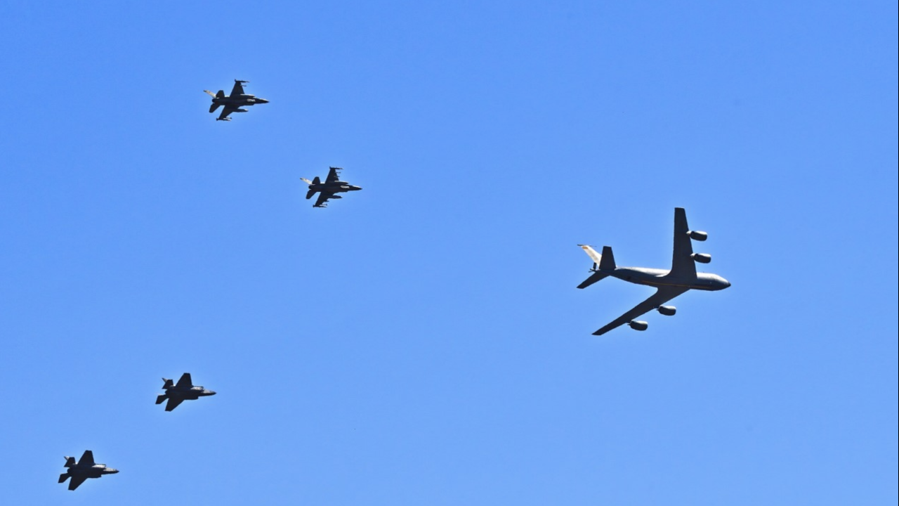 Luke AFB flyover, May 1, 2020