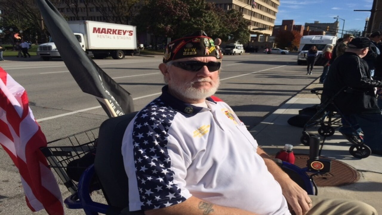 PHOTOS: Veterans Day parade, memorial service