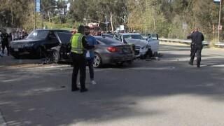 One dead, five injured in Scripps Ranch crash