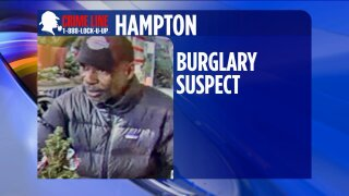 Hampton Police trying to identify burglary suspect