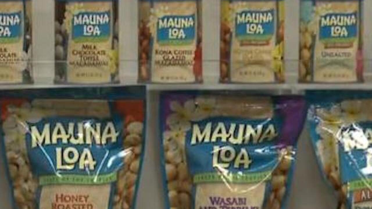 Put down those macadamia nuts: Products recalled due to E. coli concern