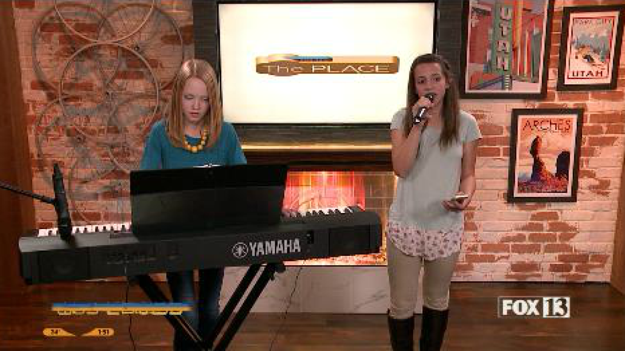 The Piano Gal Sara Arkell and Singer Layla MackeyPerform
