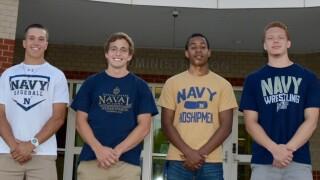 Photos: Four Grassfield High seniors headed to U.S. NavalAcademy