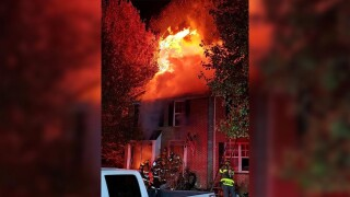 Bel Air Town Home Fire