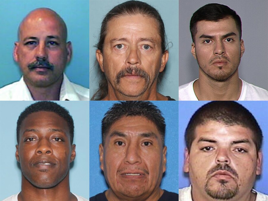 These are non-compliant sex offenders whose whereabouts are unknown, according to the Department of Public Safety. If you recognize anyone on this list, call (602) 255-0611.
