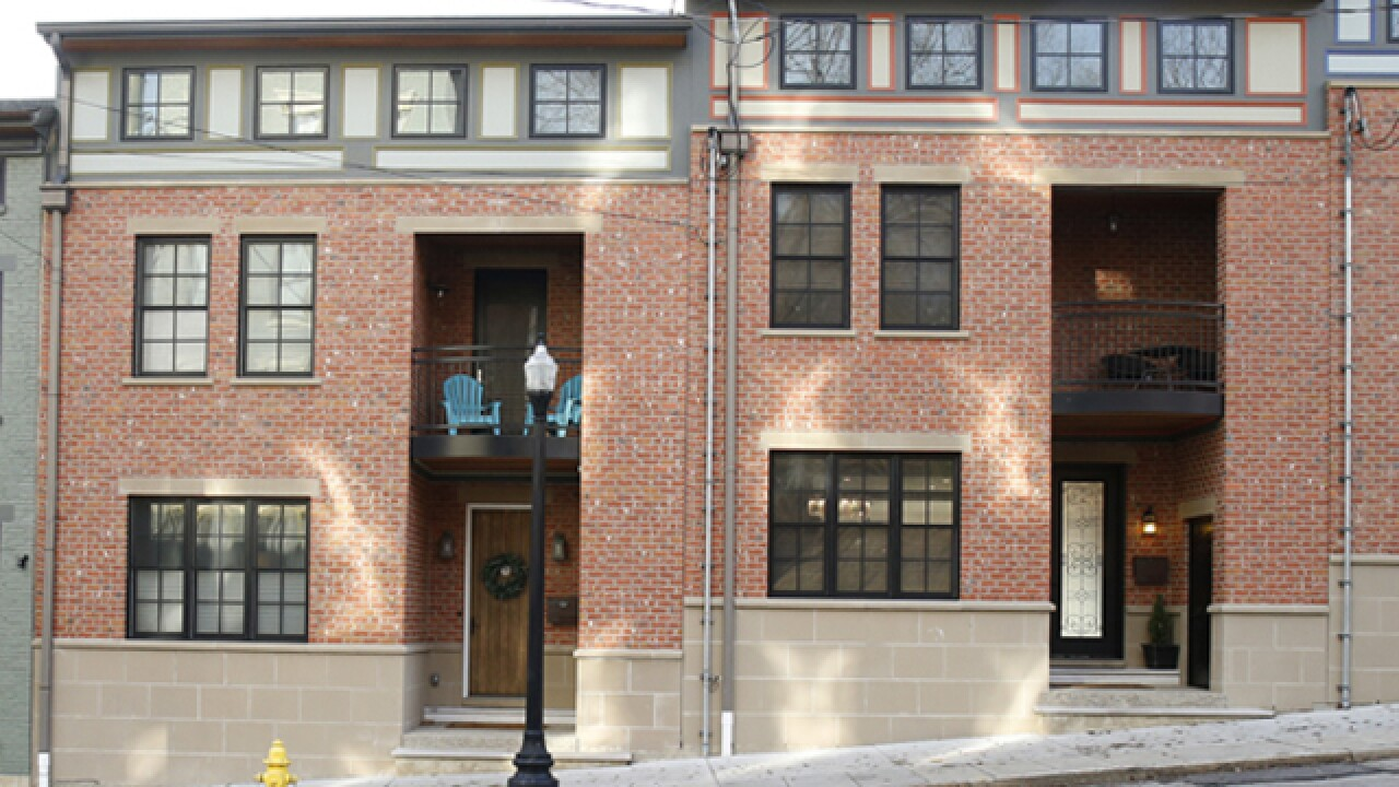 Home Tour: These twin Pendleton row houses look identical -- until you step inside