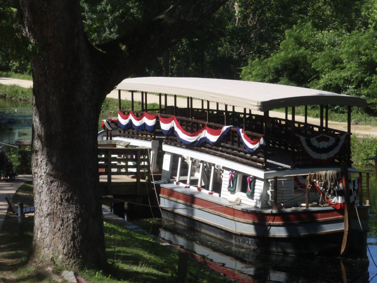 Great Falls Canal Mule Drawn Boat Rides