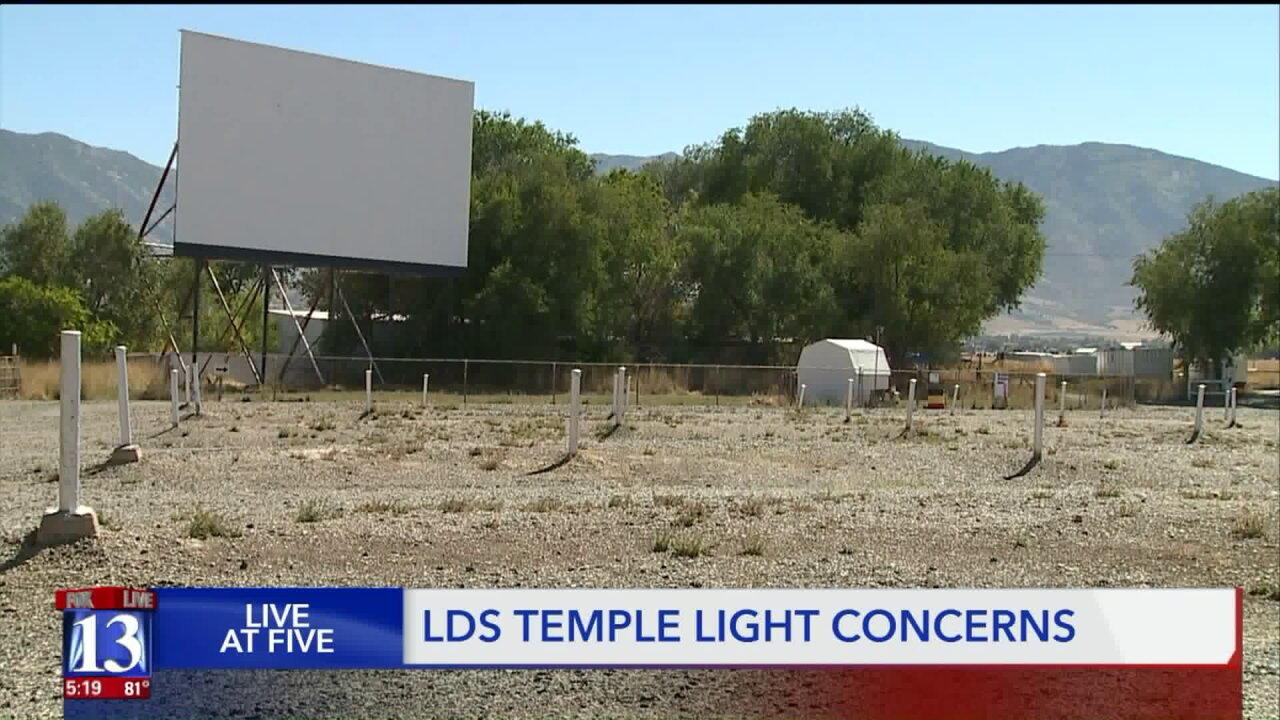 Latter-day Saint temple may hurt Tooele drive-in theater experience, manager says