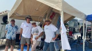 Flying Rose Racing at Bonneville Salt Flats