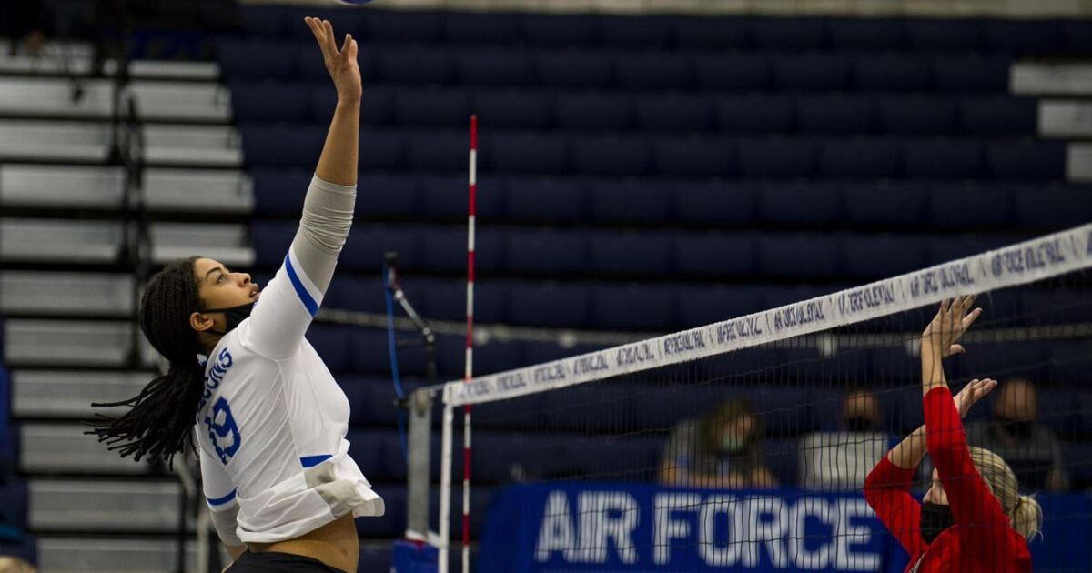 Air Force's Harvey named Mountain West Freshman of the Year