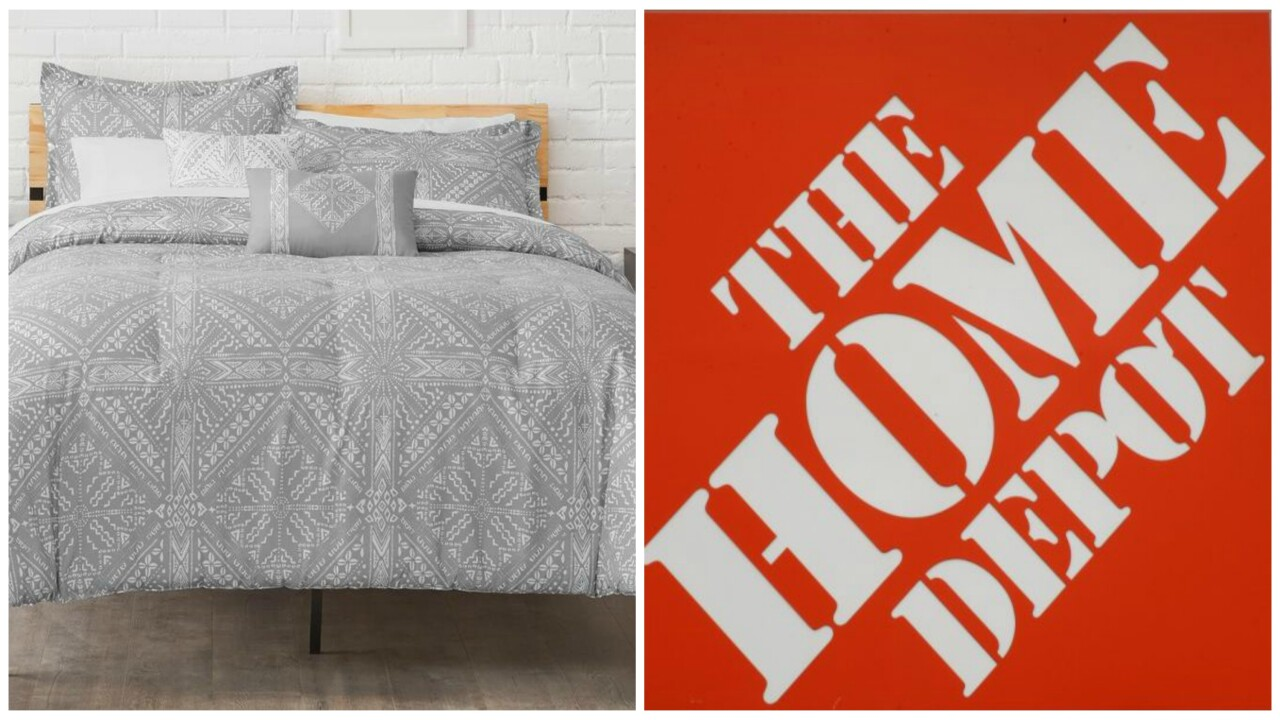 Home Depot sells bedding—and you can get flannel sheets for as low as $9 and comforter sets for as low as $23 right now