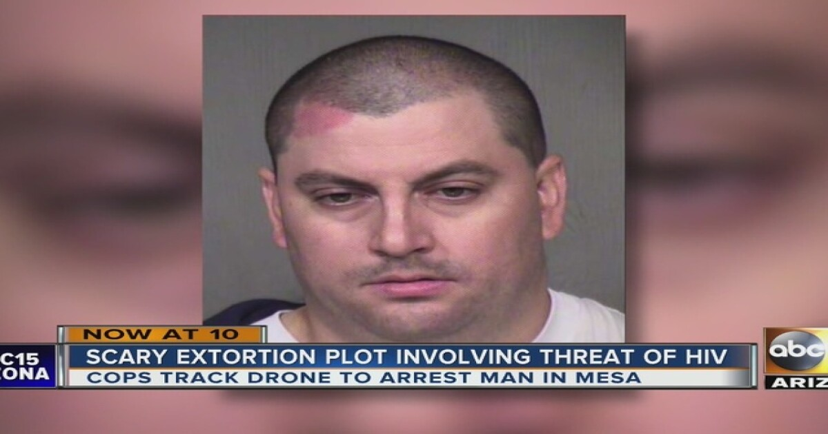 Mesa PD: Man threatens to shoot victims with tranquilizer