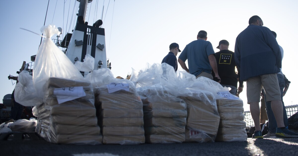 Coast Guard offloads more than $92M of cocaine in San Diego