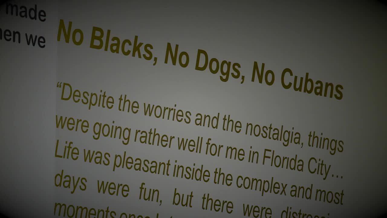 'No Blacks, No Dogs, No Cubans'