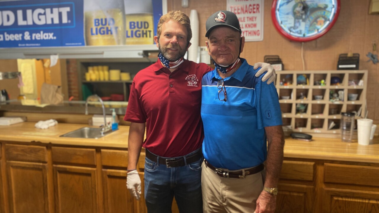 Jim and Mike Flury from Jim and Milt's BBQ