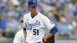 Brady Singer Career high 7 runs