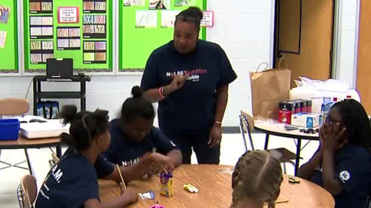 Metro Police Officer Uses Vacation Time To Host Summer Camp