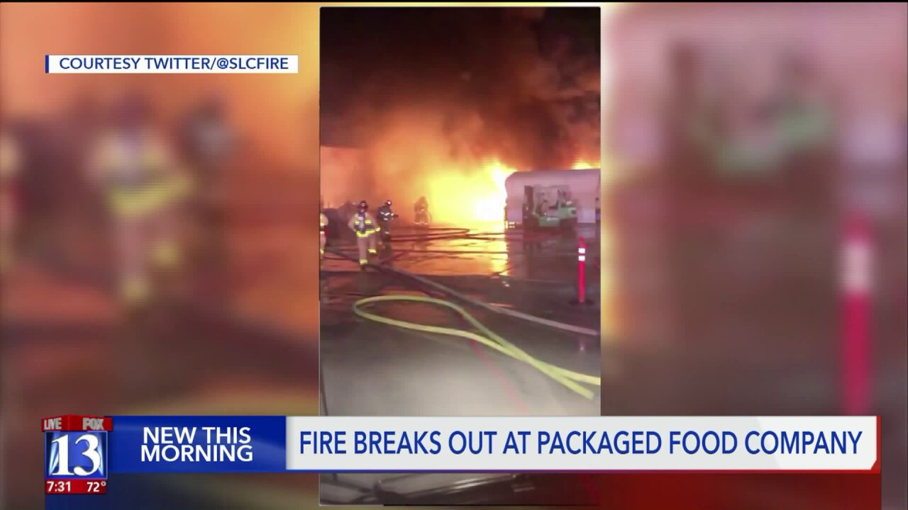 Spontaneous combustion of oily rags causes fire at Salt Lake Citycompany