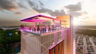 ONE Casino + Resort Project Rendering