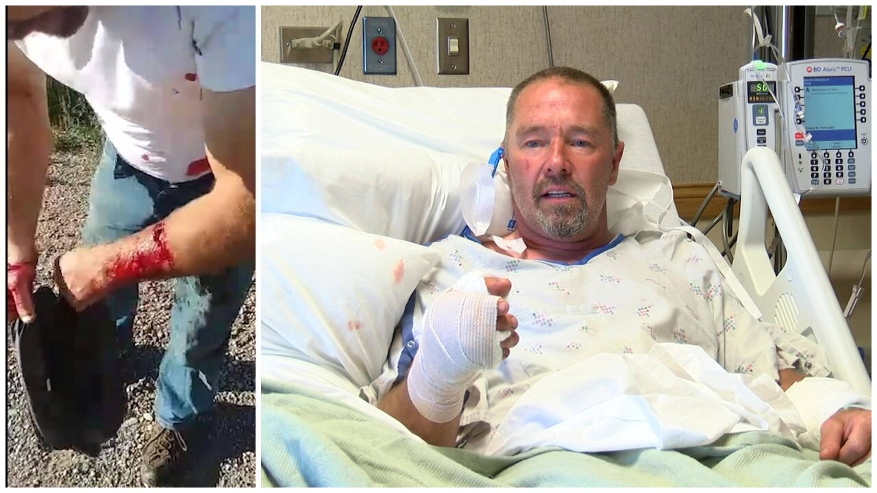 Choteau man recounts being attacked by a grizzly bear