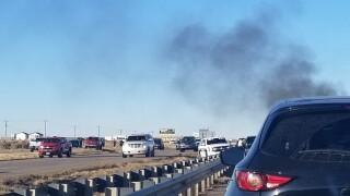 Crash closed northbound I-25