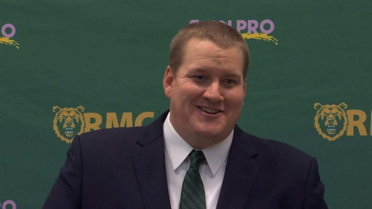 Chris Stutzriem introduced as 18th head football coach at Rocky Mountain College