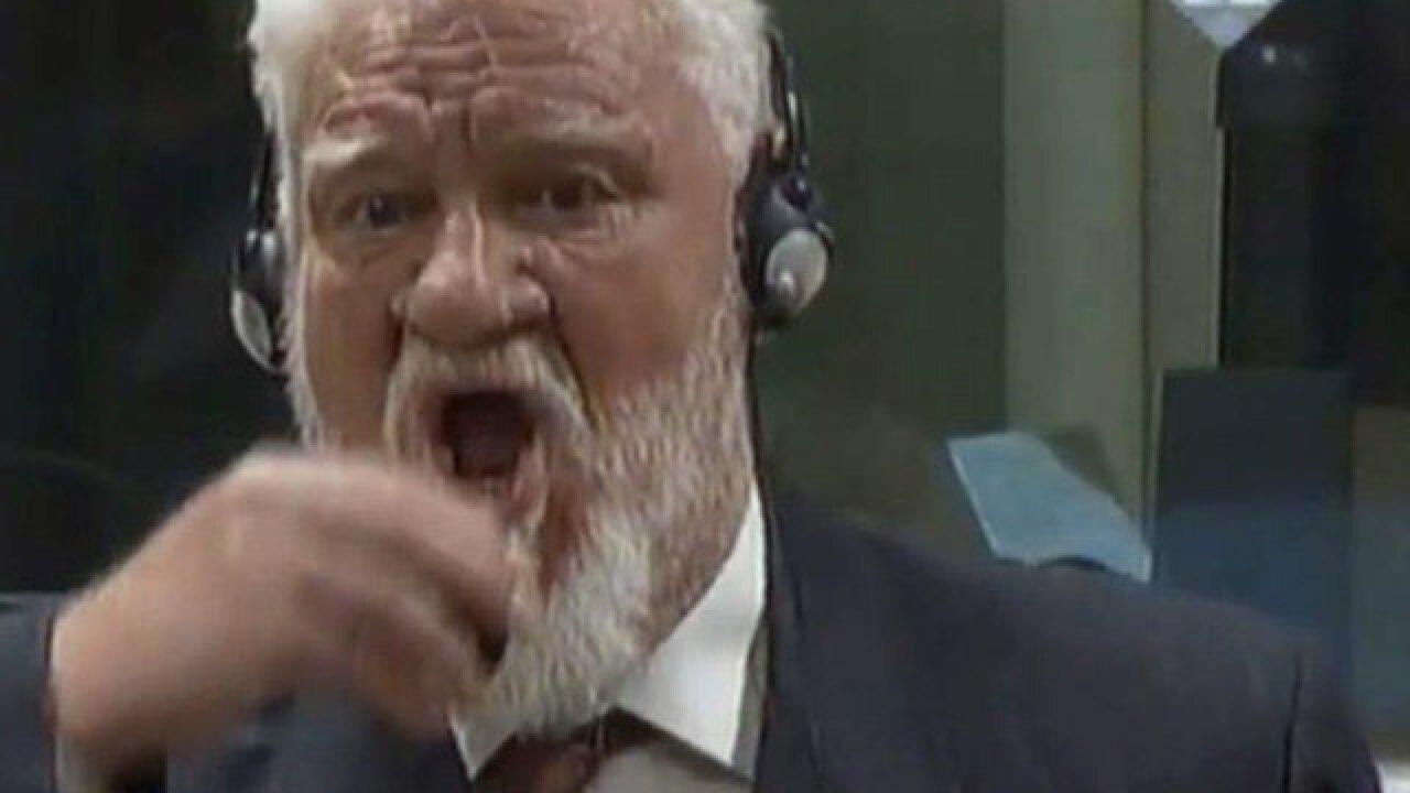 War After Swallowing Court >> Bosnian War Criminal Dies After Swallowing Poison In Court