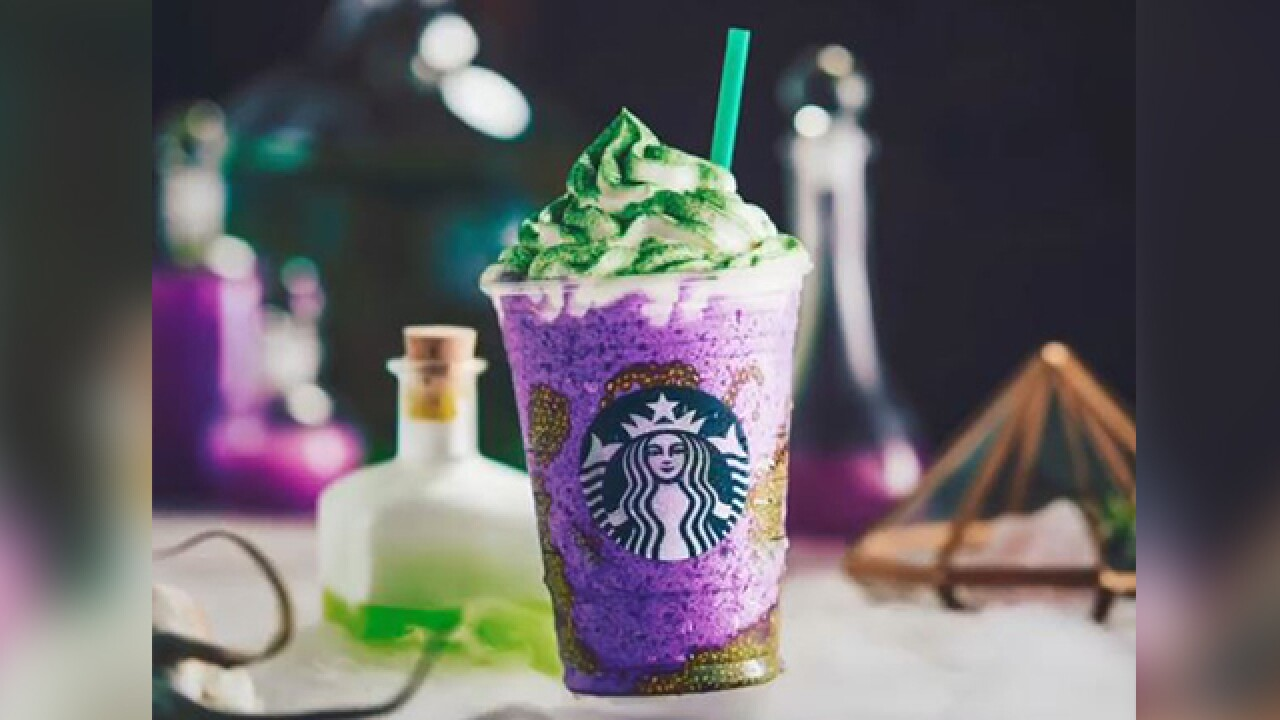 Starbucks Witch's Brew drink in stores now