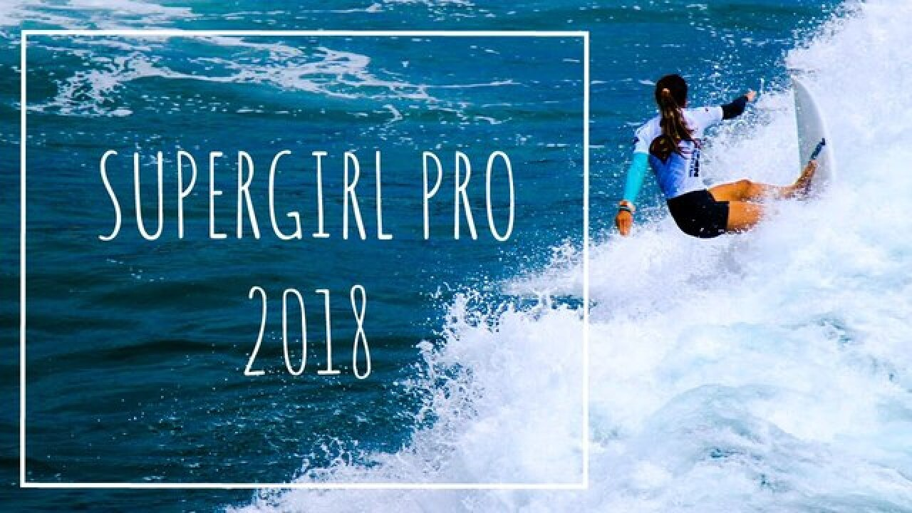 Paul Mitchell Supergirl Pro surf competition