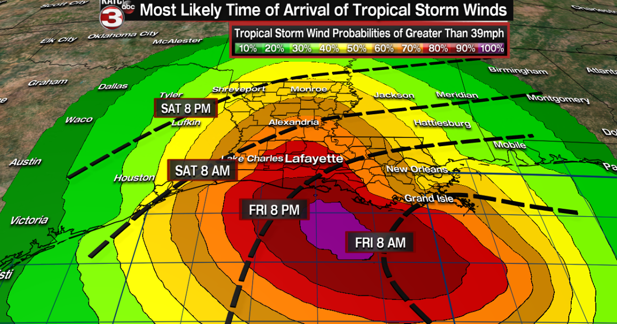 Latest tropical graphics, including wind, surge, rain and ...