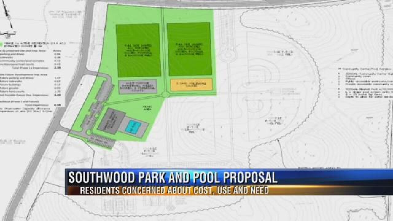 Southwood Residents Voice Concerns about City's Plans for a New Park