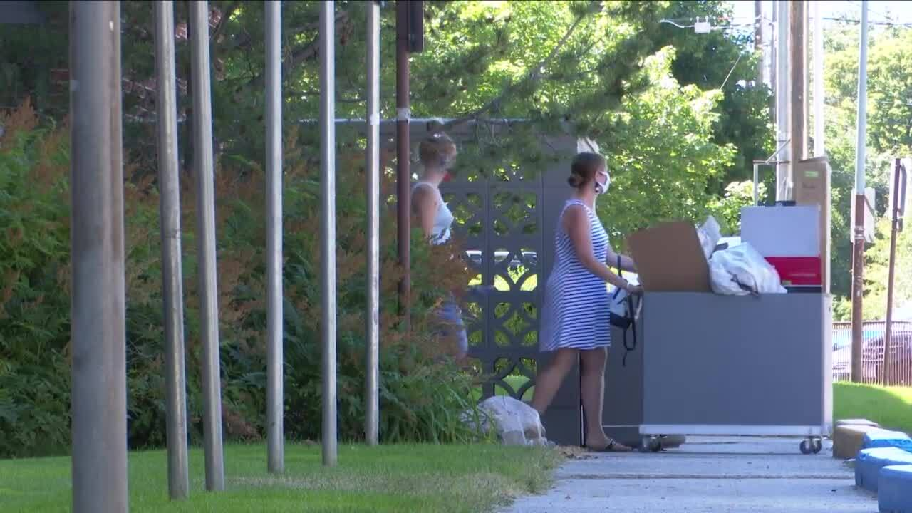 Students begin moving into UM amidst COVID-19 pandemic