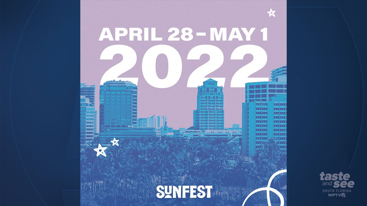 SunFest announces 2022 dates