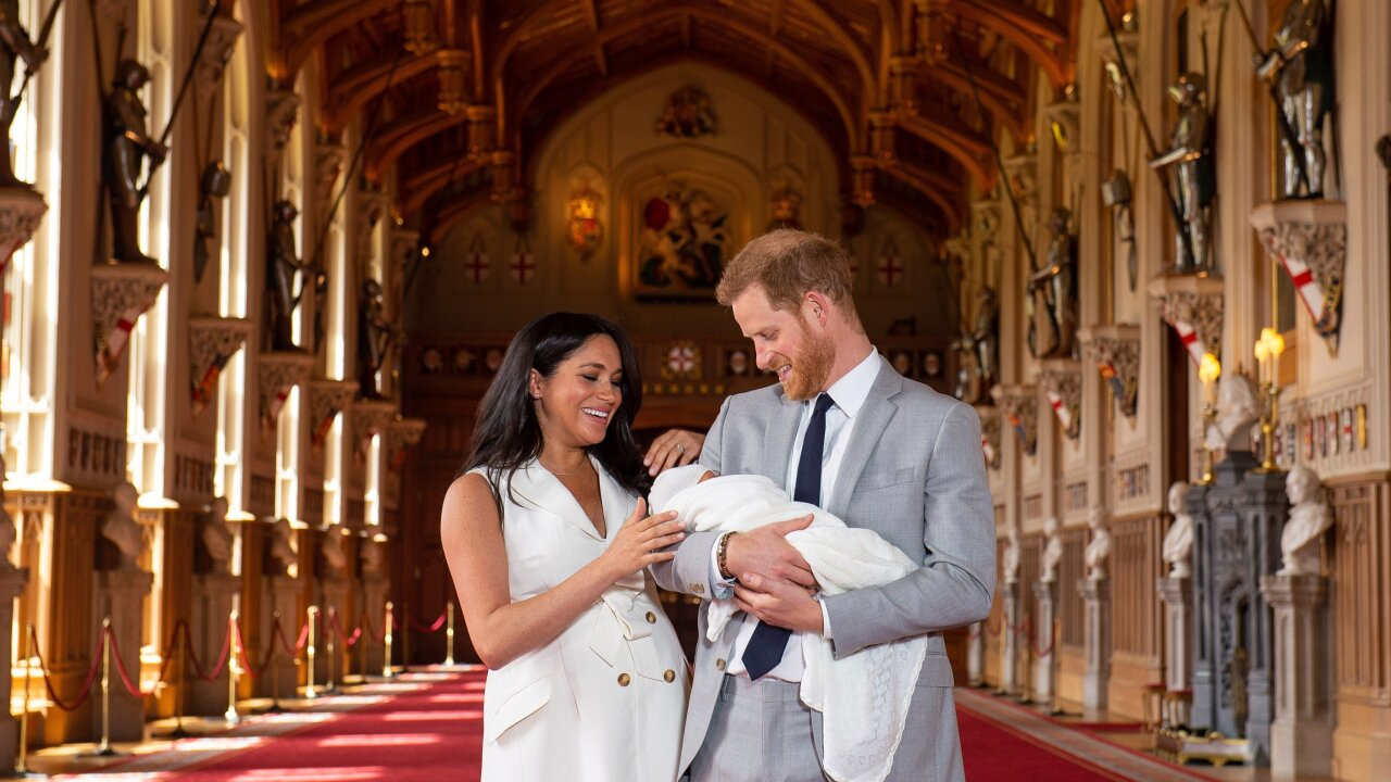 Duchess Meghan celebrates her first Mother's Day with new photo of baby Archie