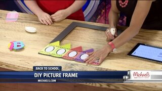Make back-to-school photos unique with a DIY Photo Frame