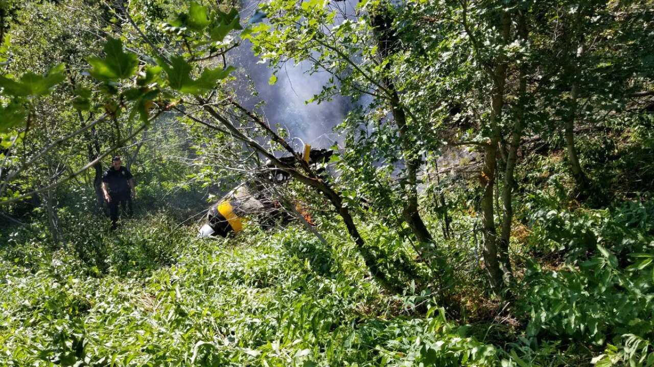 Two killed in small plane crash in ButterfieldCanyon