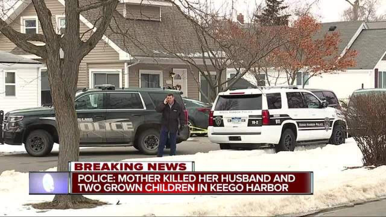 Woman in Keego Harbor murder-suicide identified