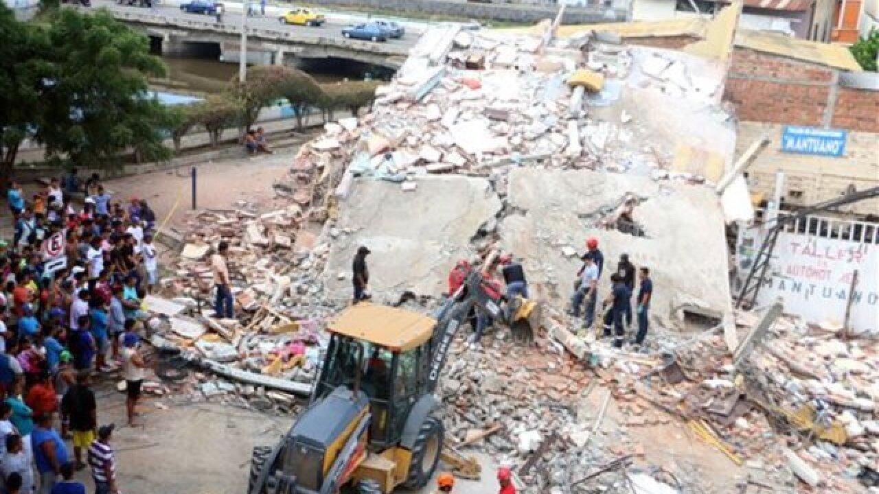 233 dead in Ecuador quake