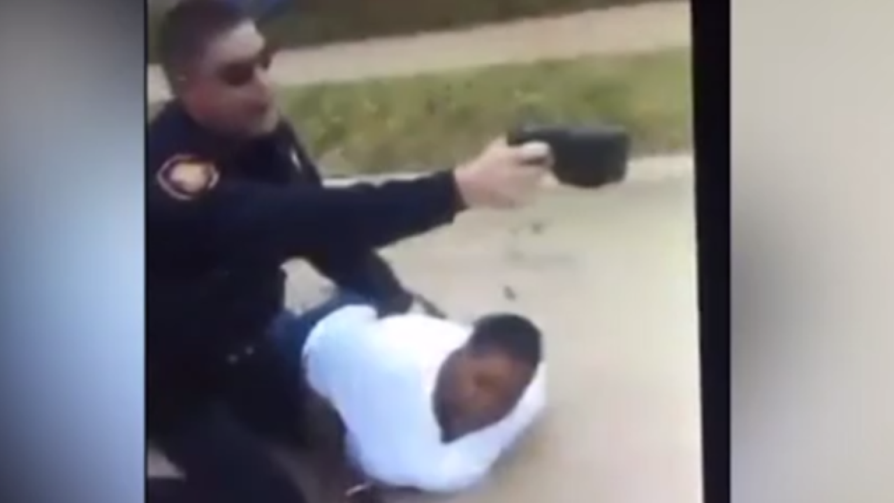 Fort Worth police suspend officer in controversial arrest video
