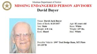 Missing/Endangered Person Advisory issued for elderly Chouteau County man
