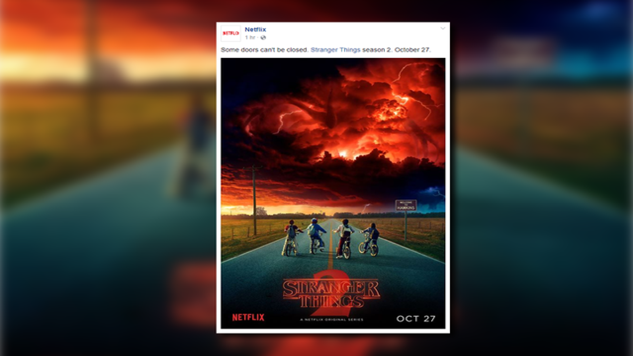 'Stranger Things' Season 2 release date announced, new poster released
