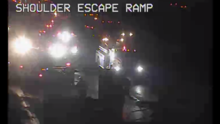 Semi truck fire forces two lanes to close on I-5 near Grapevine Rd.